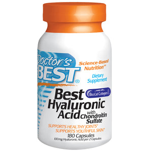 Hyaluronic Acid with Chondroitin Sulfate 60 Tabs by Doctors Best