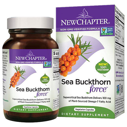 Sea Buckthorn Force 30 Veg Caps by New Chapter