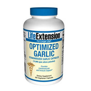 Optimized Garlic 200 vcaps by Life Extension