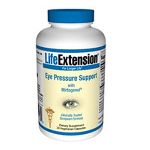 Eye Pressure Support with Mirtogenol 30 vcaps by Life Extension (2587404763221)