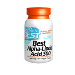 Alpha-Lipoic Acid 180 Vegi Caps by Doctors Best