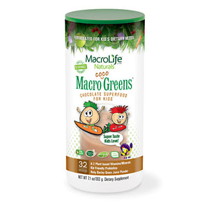 Jr Coco Greens 30 Day Canister 7 OZ by Macrolife Naturals
