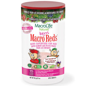 Jr Berri Red 15 Day Canister 3.3 OZ by Macrolife Naturals