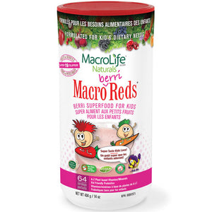 Jr Berri Red 64 Day Canister 14 OZ by Macrolife Naturals
