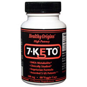 7-Keto DHEA Metabolite 120 Veg Caps by Healthy Origins (2587410366549)