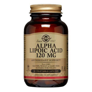 Alpha Lipoic Acid 60 V Caps by Solgar