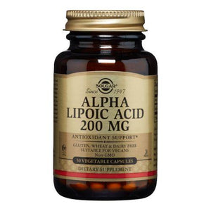 Alpha Lipoic Acid 50 V Caps by Solgar