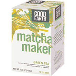 Matcha Maker Green Tea 18 Tea bags by Good Earth Teas (2587954774101)