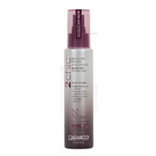 2chic Ultra-Sleek Blow Out Styling Mist Brazilian Keratin & Argan Oil 4 oz by Giovanni Cosmetics