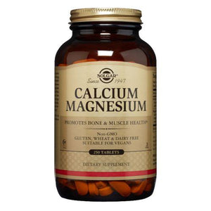 Calcium Magnesium Tablets 250 Tabs by Solgar