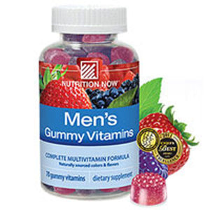 Men's Gummy MultiVitamin 70 chews by Nutrition Now (2587956543573)