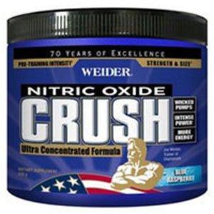 Crush-Pre Work Out Blue Raspberry 330 gms by Tigers Milk (Weider)