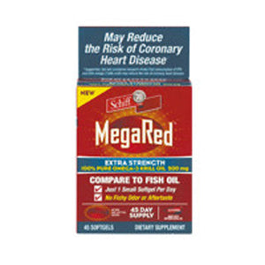 MegaRed Extra Strength Omega 3 45 sgels by Schiff/Bio Foods (2587960770645)