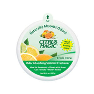 Solid Odor Absorber Citrus 8 oz  by Citrus Magic (2587418984533)