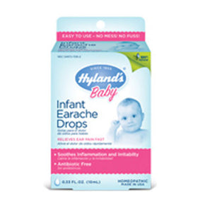 Baby Infant Earache Drops 0.33 Oz by Hylands