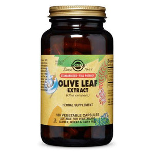 SFP Olive Leaf Extract Vegetable Capsules 180 V Caps by Solgar