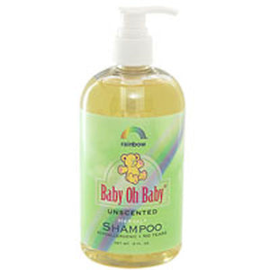 Baby Oh Baby Shampoo Unscented 16 OZ by Rainbow Research (2588081979477)