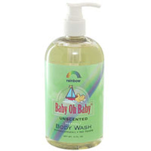 Baby Oh Baby Body Wash Unscented 16 OZ by Rainbow Research (2588082012245)