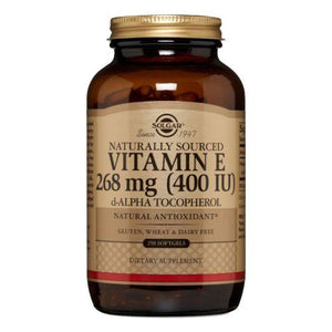 Vitamin E Alpha 250 Softgels by Solgar