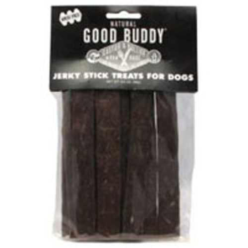 Good Buddy Beef Jerky Sticks For Dogs 3.5 oz(case of 12) by Castor & Pollux