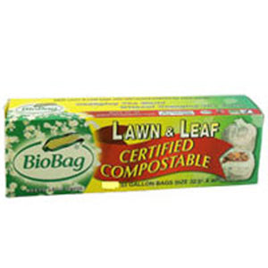 Lawn and Leaf Compostable Bags 5 CT by BioBag (2587588722773)