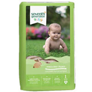 Free and Clear Baby Diapers Stage 1, 40 CT(case of 4) by Seventh Generation