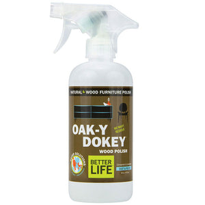 Oak-Y Dokey Wood Cleaner And Polish 16 oz by Better Life (2587592523861)