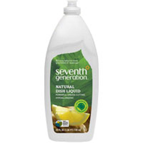 Natural Dish Liquid Fresh Citrus and Ginger 25 OZ(case of 12) by Seventh Generation
