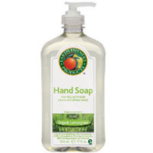 Hand Soap Organic Lemongrass 17 oz(case of 6) by Earth Friendly (2587593932885)