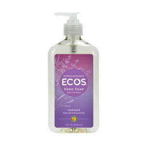 Hand Soap Organic Lavender 17 oz(case of 6) by Earth Friendly (2587593965653)