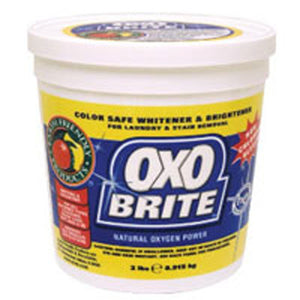 Oxo Brite Non-Chlorine Bleach 2 LB(case of 8) by Earth Friendly (2587594817621)