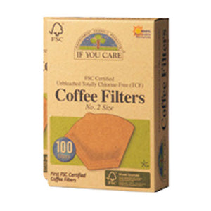Coffee Filters # 2 100 Count by If You Care (2587595178069)