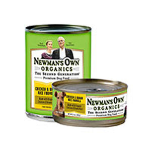 Organics Chicken and Brown Rice Formula for Dogs 12.7 OZ(case of 6) by Newman's Own Organics  (2587596062805)
