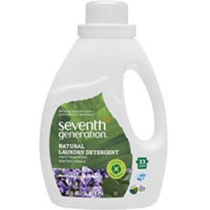 Natural 2X Concentrated Laudry Detergent Eucalyptus and Lavender 50 OZ(case of 6) by Seventh Generation