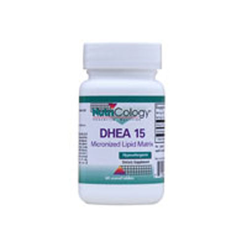 DHEA 15 MG 60 TABS by Nutricology/ Allergy Research Group