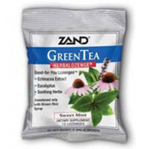 HerbaLozenge Green Tea Echinacea 36x15ct by Zand
