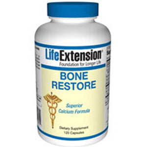 Bone Restore 120 Caps by Life Extension (2587605172309)