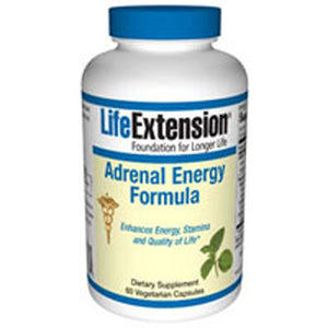 Adrenal Energy Formula 60 Vcaps by Life Extension