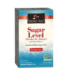 Sugar Level Tea 20 Bags by Bravo Tea & Herbs (2590189092949)
