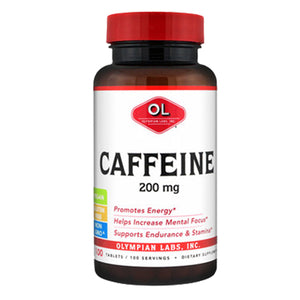 Caffeine 100 Tabs by Olympian Labs (2588320301141)