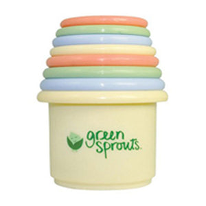 Stacking Cup Set 8 Count by Green Sprouts