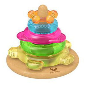 Dream Window Teether Tower 5 Count by Green Sprouts