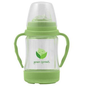 Sip 'n Straw Glass Cup 1 Count by Green Sprouts (2588318957653)
