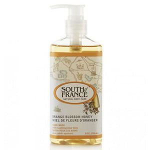Hand Wash Orange Blossom Honey 8 fl oz by South Of France Soaps (2590187880533)
