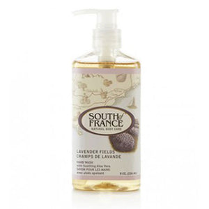 Hand Wash Lavender Fields 8 fl oz by South Of France Soaps (2590187749461)