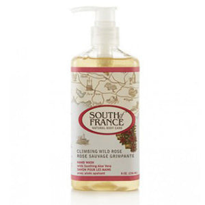 Hand Wash Climbing Wild Rose 8 fl oz by South Of France Soaps (2590187585621)