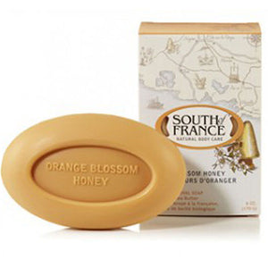 French Milled Oval Soap Orange Blossom Honey 6 oz by South Of France Soaps (2590187487317)