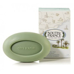 French Milled Oval Soap Cote D'Azur 6 oz by South Of France Soaps (2590187159637)