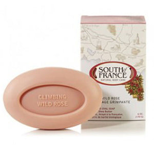 French Milled Oval Soap Climbing Wild Rose 6 oz by South Of France Soaps (2590187061333)