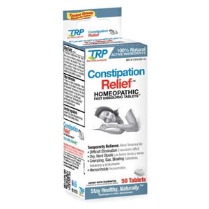 Constipation Relief 50 Tabs by TRP Company (2588316991573)